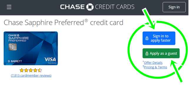 Chase Sapphire Preferred Credit Card Review | Application, Sign In