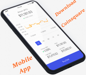 Download Coinsquare Mobile App