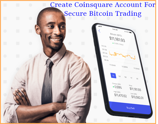 Steps To Create Coinsquare Account For Secure Bitcoin Trading