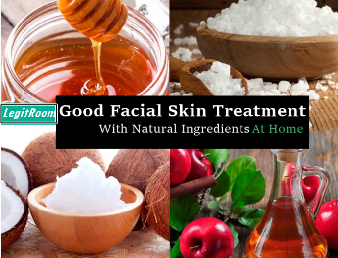 Good Facial Skin Treatment With Natural Ingredients At Home
