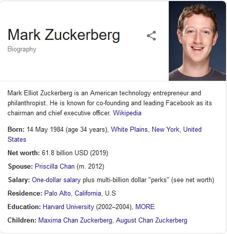 BIOGRAPHY: Mark Zuckerberg Net Worth, House, Wife, Children, Age, Family