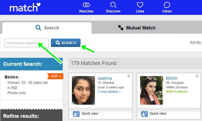 View Match.com Without Sign Up From Match Online Dating Site