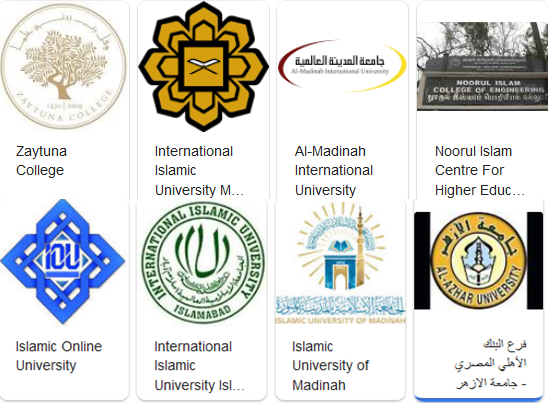Top 7 Islamic Online University, IOU, IIUI, Al-Azhar, IIUM