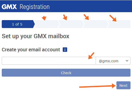 Free GMX Email Accounts Sign Up @ GMX.com
