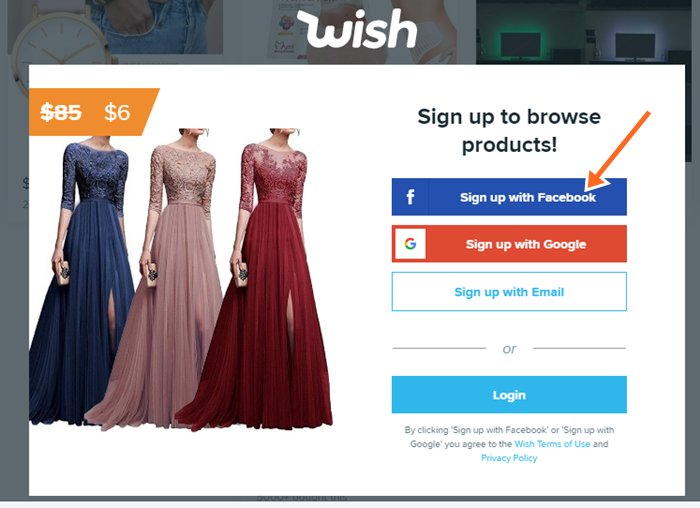 www.wish.com: Wish Shopping Official Site Online, Sign Up, Login