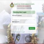portal.nysc.org.ng Sign In - NYSC Dashboard Login With Email Address