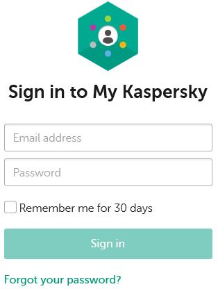 my.kaspersky.com Sign In - Kaspersky Login With Email & Facebook