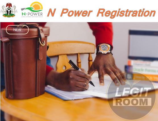 N Power Registration Steps at www.npower.gov.ng Recruitment Portal
