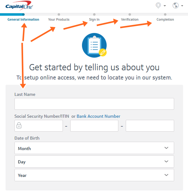 Capital One Credit Cards Application Online