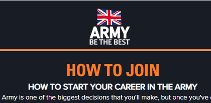 How to Join British Army Recruitment For Foreigners, Commonwealth Countries