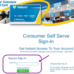 Valero Credit Card Payment Online Login