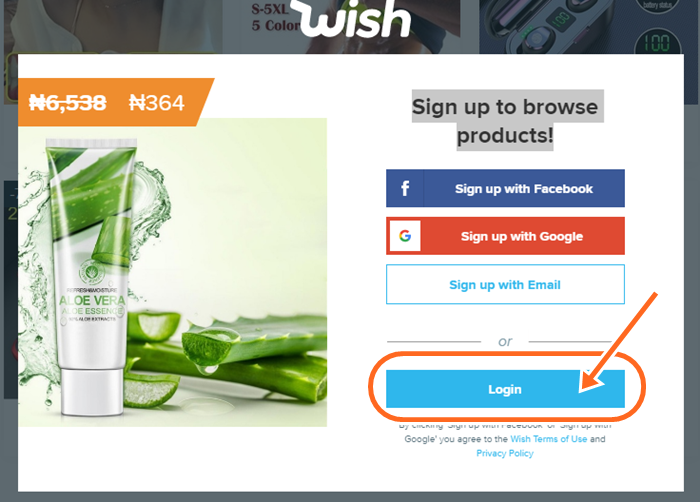 Wish Shopping Official Site USA | Wish UK Sign In