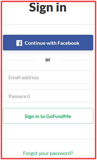 www.gofundme.com/sign-in | GoFundMe Account Login