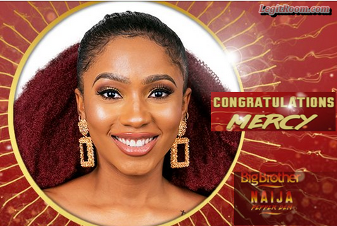 BBNaija Grand Finale: Mercy Wins Big Brother Nigeria 2019