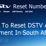 DSTV Reset Number - How To Reset DSTV After Payment In South Africa