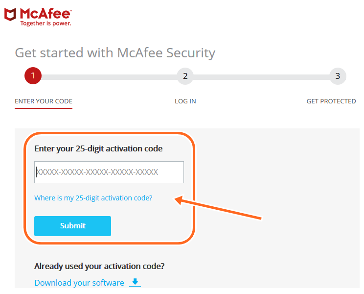 Activate My McAfee Product Key, Install McAfee Activation/Product Key