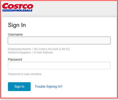 Costco.com Employee Website For Costco Employee Sign In