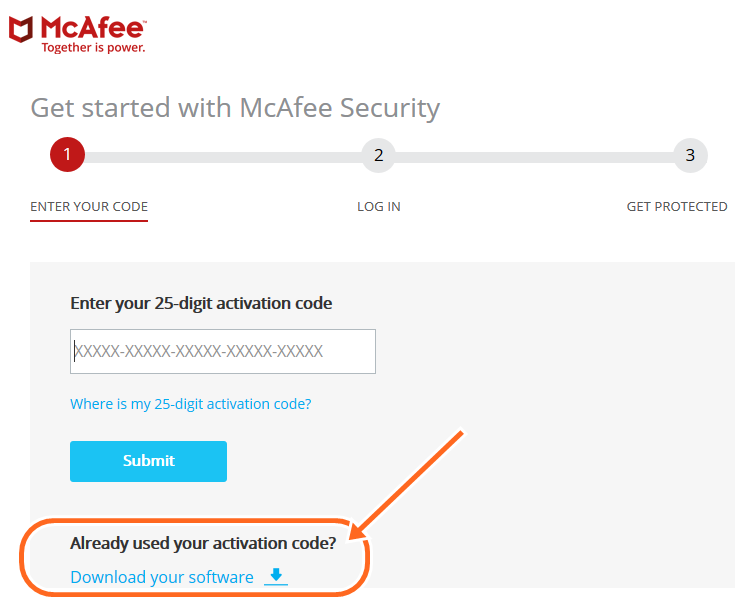 To Download McAfee Activation Code