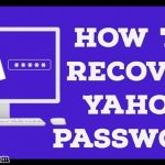 How To Recover Yahoo Mail Password At www.login.yahoo.com