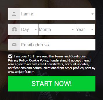 wvw.wejustfit.com/registration - We Just Fit Dating Site