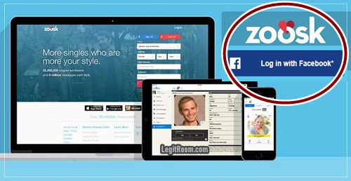 Facebook Zoosk Login Dating Site - www.zoosk.com FB Sign In