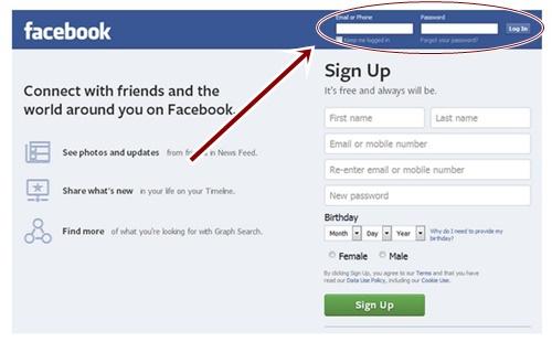 How To Sign In FB.com   Facebook Login Page - Web.facebook.com Portal