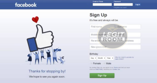 web.facebook.com Registration - Facebook Email Address Sign Up