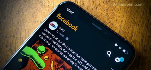 How To Switch To Facebook Dark Mode Via FB Mobile App
