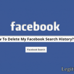 How To Clear Facebook Search History Via Facebook Mobile App